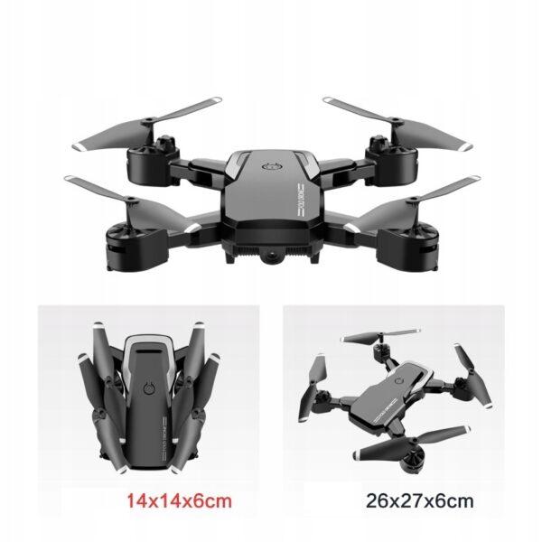 Dron-4K-kamera-FPV-Skladana-WIFI-Min-Drone-Czarny-Model-YJ4K_1